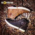 SERENE 2017 Men Shoes Male Shoes Casual Leather Big Size 38-46 Lace-Up Men Shoes British Style Retro Design Martin Boots 3213