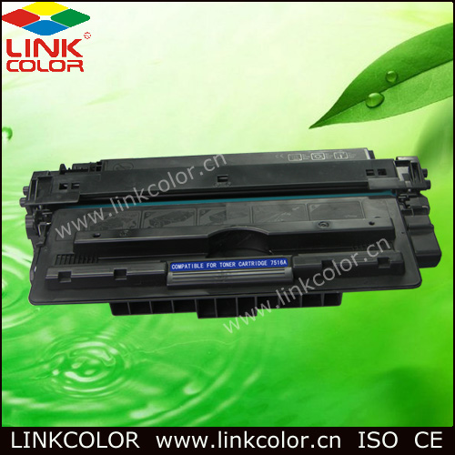 Q7516A 16a 7516A 16 Black LaserJet Toner Cartridge for HP LaserJet 5200L/5200/5200n/5200dtn  For CANON LBP-3500  (12000 Pages)