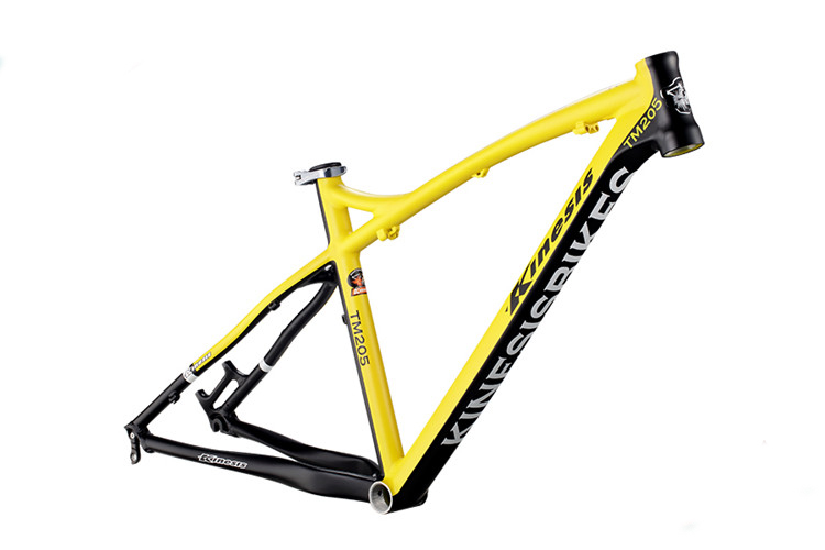 Kinesis Tm205 Mountain Bike Frame Aluminum Frame Disc Brake Frame 15/17/18/19inch Frame Bicycle Parts