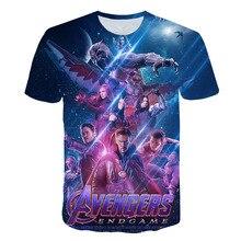 Marvel Avengers Endgame 3D Printed T Shirts