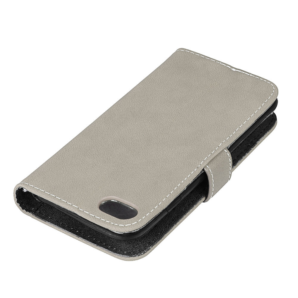 LUCKBUY 7 7Plus täcker lyx PU-läder plånbok Matt Flip Fodral för - Reservdelar och tillbehör för mobiltelefoner - Foto 3