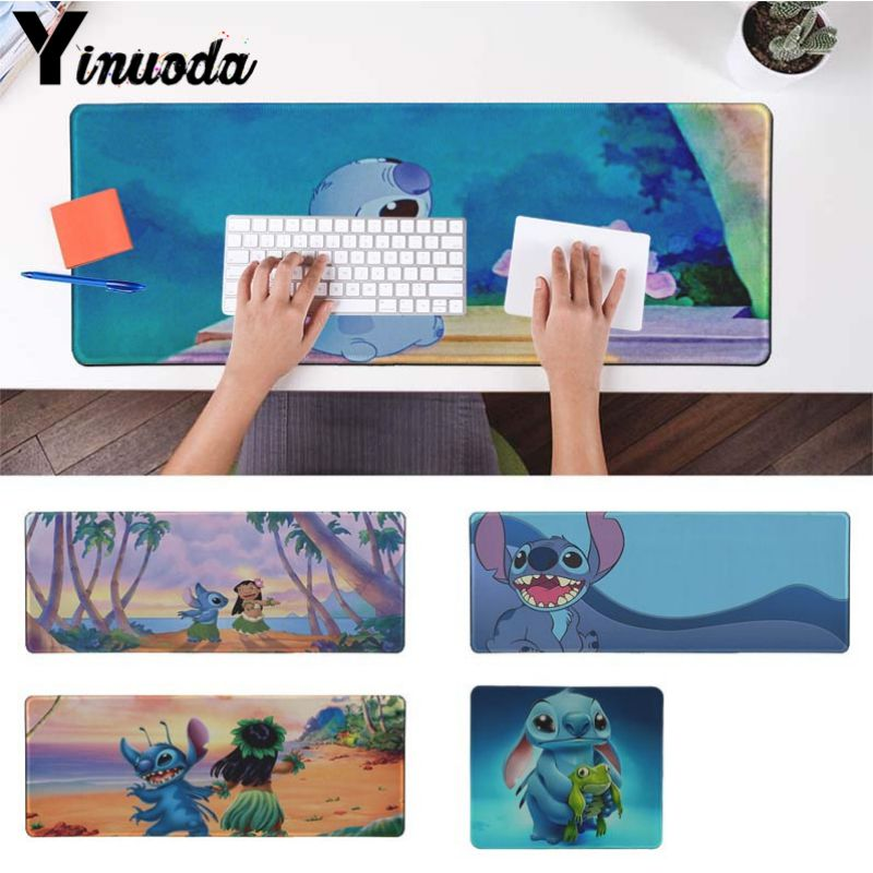 Computer Peripherals Maiyaca My Favorite Lilo Stitch Durable Rubber Mouse Mat Pad For Dota2 Cs Lol Player Gaming Mouse Pad Cartoon Pattern Mousepad Mouse Pads