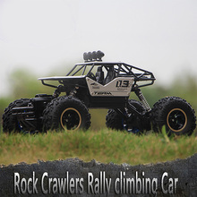 Rc Car 1/16 4Wd Rock Crawlers Remote Control Car Model Vehicle 4X4 Driving Car Double Motors Drive Bigfoot Car Toy Kids Gift 1 12 scale electric rc rock crawlers 4x4 remote control toys rc car 4wd off road driving car w 2 motors drive radio control rtr