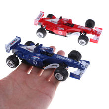 1pcs New arrival 1:32 F1 Formula 1 Racing Cars Diecast Metal Car Model Toy Gift Blue/Red(China)