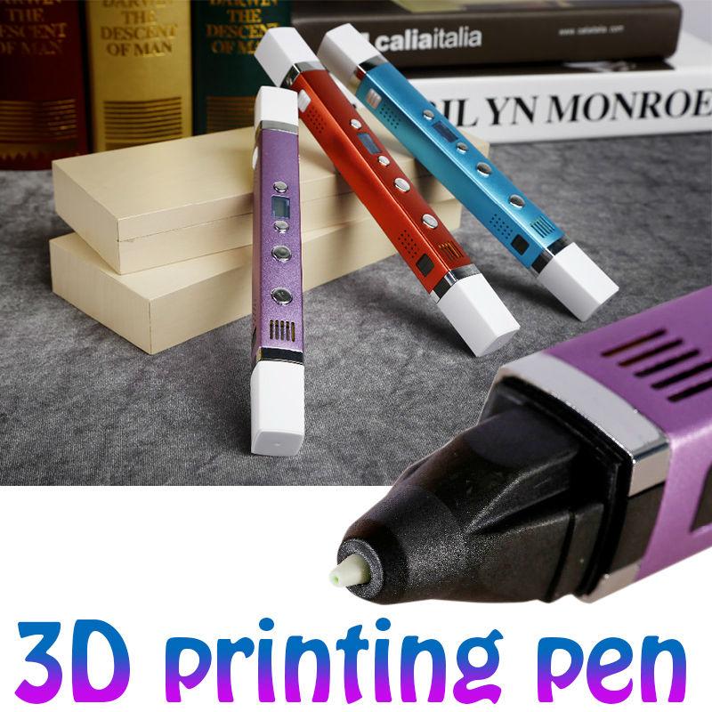 Prix pour 3D Stylo Original Myriwell 3ème Génération Multifonction 3D Magique Stylo 5V2A USB De Charge Plus 1.75mm BAS/PLA Soie Le Meilleur Cadeau
