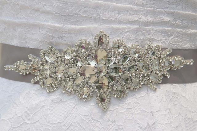 Crystal Wedding Belt Rhinestone Czech Stones  Bridal Belt