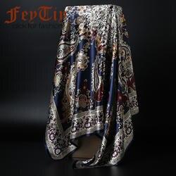 Модные шарфы для женщин для печати атласный, Шелковый платок Женский 90x90 см квадратная шаль Бандана головы большой хиджаб шарфы дам 2019