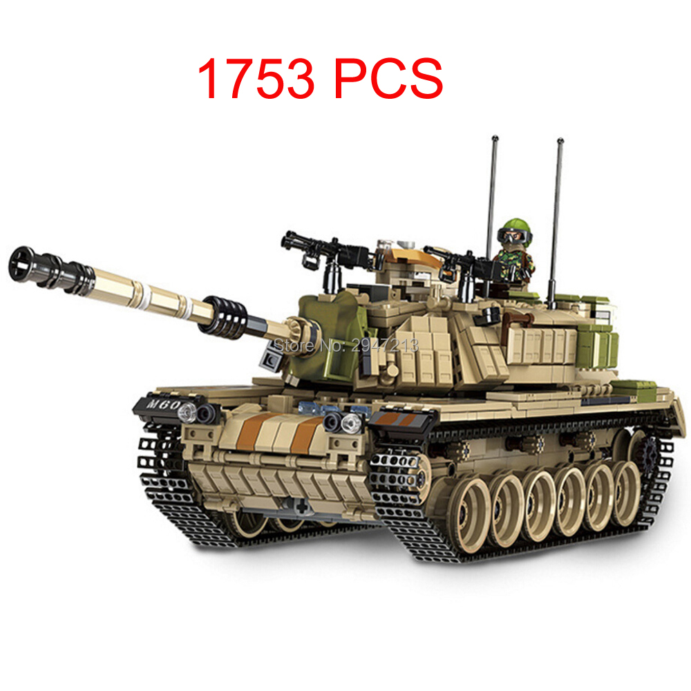compatible LegoINGlys military WW2 army war Building Blocks MK60 Heavy tank model mini soldier figures brick educational toys mini transportation army military blocks assembled car tank compatible legoingly building brick handmade model toy for kids gift