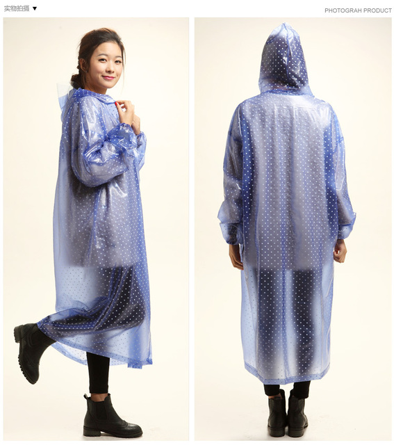 Design de moda longo com um capuz tipo trincheira capa de chuva com mangas poncho capa de chuva portátil capa de chuva das mulheres dos homens RC001free grátis