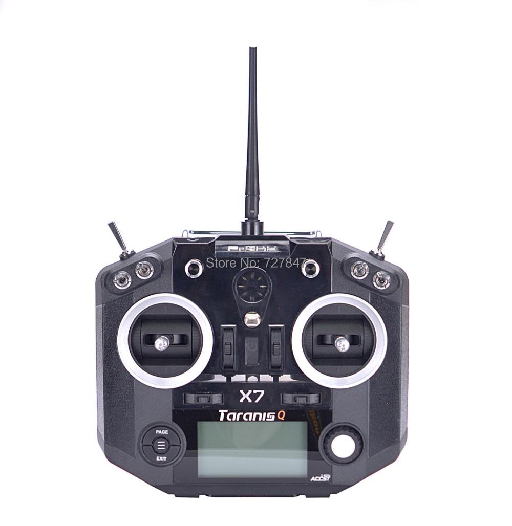 FrSky ACCST Taranis Q X7 QX7 2 4GHz 16CH Transmitter With O Receiver Mode 2