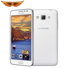 Original Entsperrt Samsung Galaxy Grand Max G7200 16GB ROM 1,5 GB RAM 5,25 Zoll 13,0 MP LTE Dual SIM karten Verwendet Smartphone