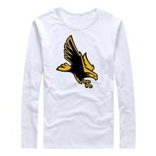Men Southern Mississippi Golden Eagles T shirt Hip Hop 2017 New O-Neck long Sleeve Male Summer Tops Streetwear Plus Size T-Shirt