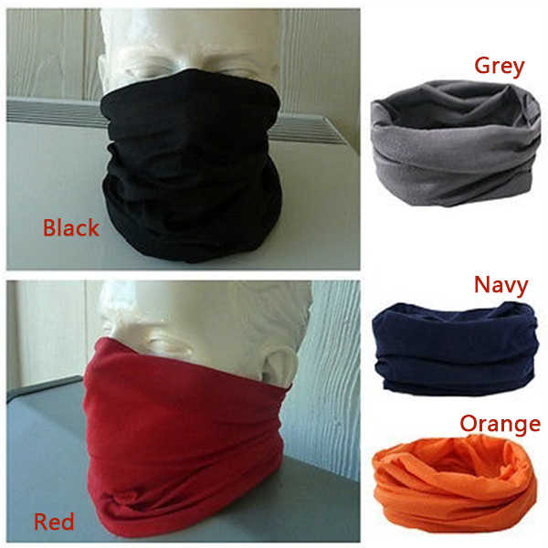 2019 Newly Fashion Neck Warmer Scarf Neckerchief Headscarf Cycling Sport Kerchief Face Mask Headwear 19ing