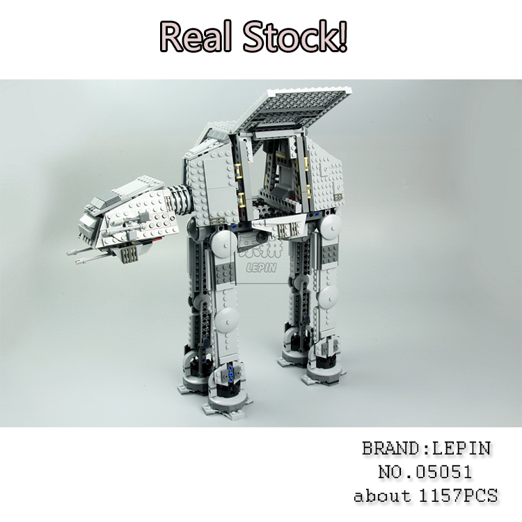 Lepin 05051 Star Toys Wars The Force Toys Awaken The AT Assembling Building Blocks Bricks compatible legoINGly 75054 brinquedos lepin 1022pcs star series wars captain rex s at te building blocks brick lepin 05032 boys toys gift compatible legoingly 75157
