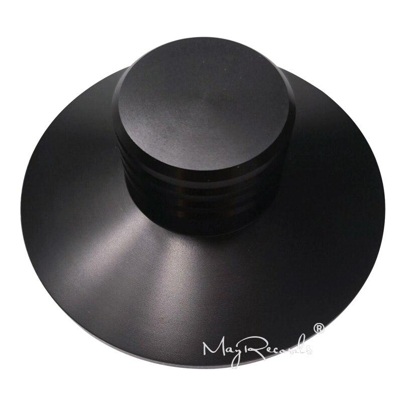 Angemessen Neue Lp Vinyl Plattenspieler Schwarz Metall Disc Stabilisator Rekord Gewicht 123g üBerlegene Materialien Unterhaltungselektronik
