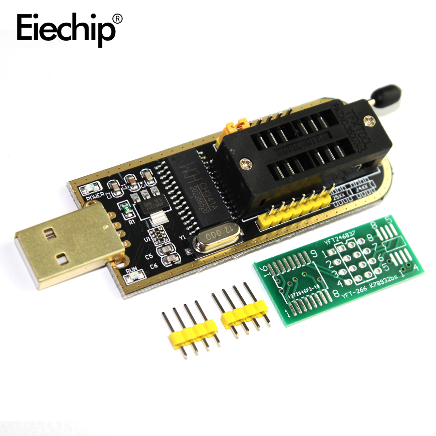 Free Shipping 1pcs CH341A 24 25 Series EEPROM Flash BIOS USB Programmer with Software & Driver grove multichannel gas sensor