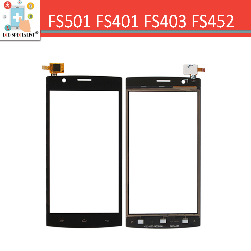FLY FS401 FS403 FS452 FS451 FS501 FS502 front Glass Lens Touch Panel Touch Screen Digitizer Black