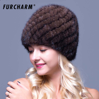Factory Wholesale Imported Mink Wool Winter Winter Hat Children Thick Fur Hats Old Mother Hat