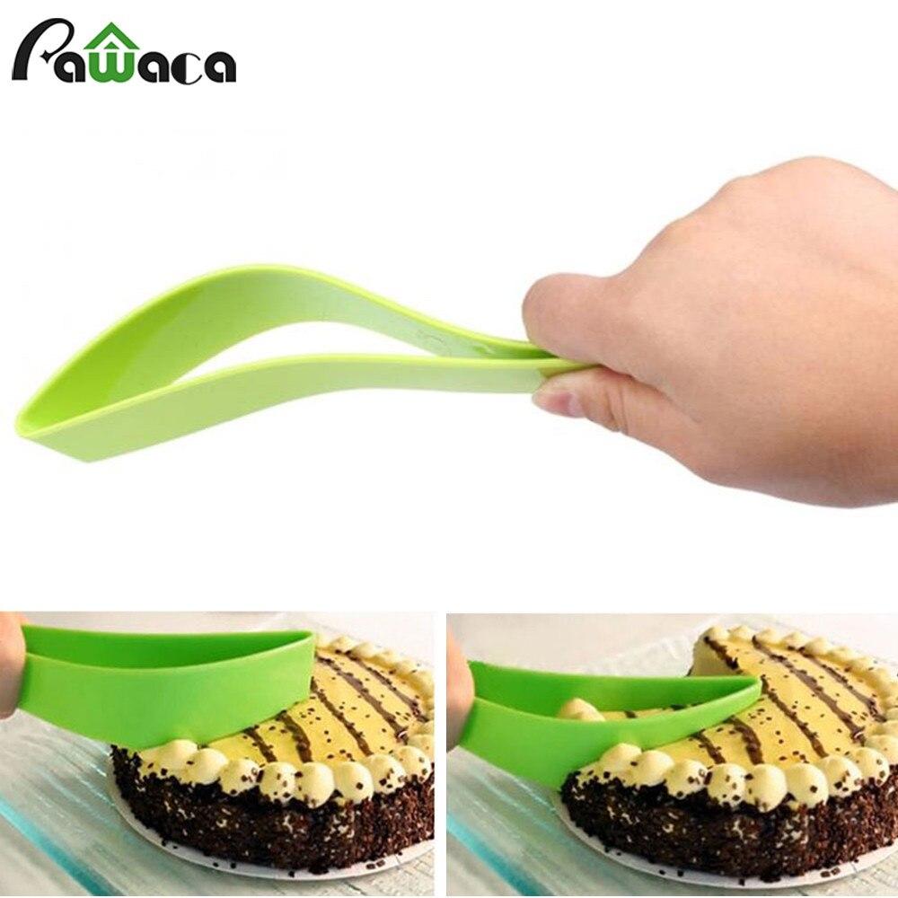 Cortador de la torta Herramientas Fondant Pastel Slicer Utensilio de Cocina de U
