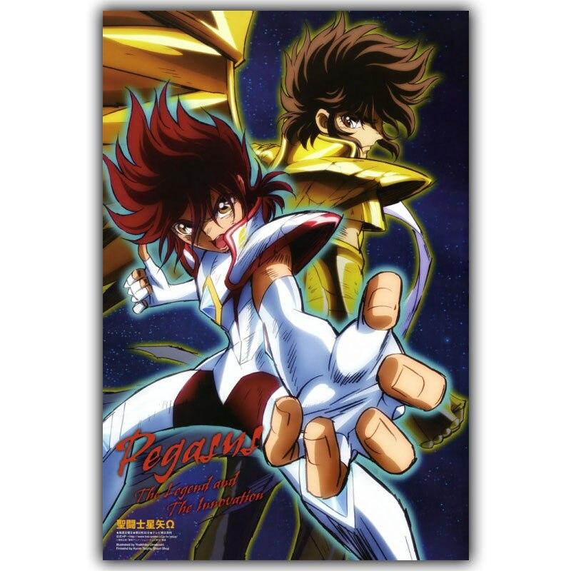 Poster Saint Seiya Japan Anime Boy Room Wall Cloth Poster Print 2
