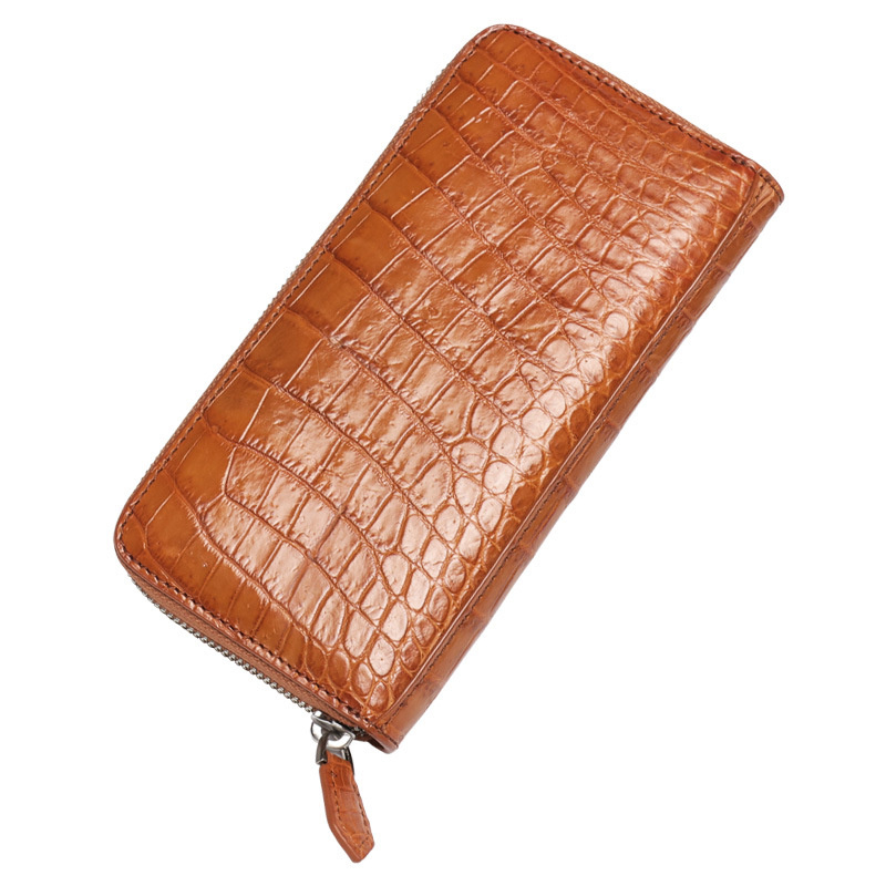 2018 Fashion Crocodile Pattern Coin Purses Card Holder Genuine Leather Woman Long Wallets Women's Alligator Long Clutch Bags