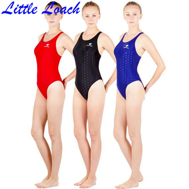 e0ff8c7874d4c High Quality Professional Training Swimwear Women Gym Bodysuit Athletic  Swimsuit Kids Girl Swim Competition Solid Bathing Suit