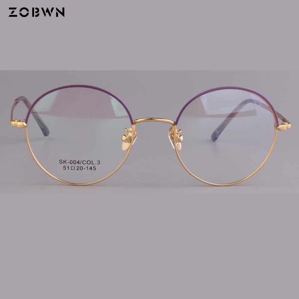 Frauen Mit Männer Full Brille Klar Mix Hohe Mode Runde frame Qualität Rahmen Neue Großhandel Optische Glas Gläser wp6npqxSP