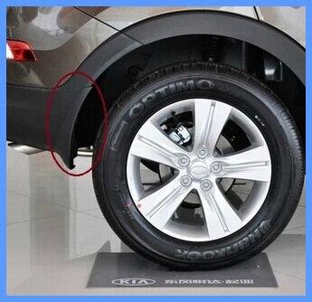 Высокая звезда 4 шт Автомобильный брызговик, брызговик(сильный материал PP, антивозрастной, без запаха) для Kia sportage 2011