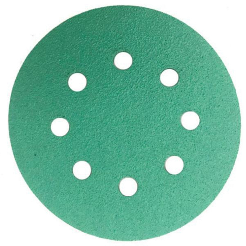 25 Pcs Professional Anti Clog 125 Mm Sandpaper 5 Inch Film Sanding Disc With 120 Grits Wet & Dry Hook & Loop Abrasive Tools