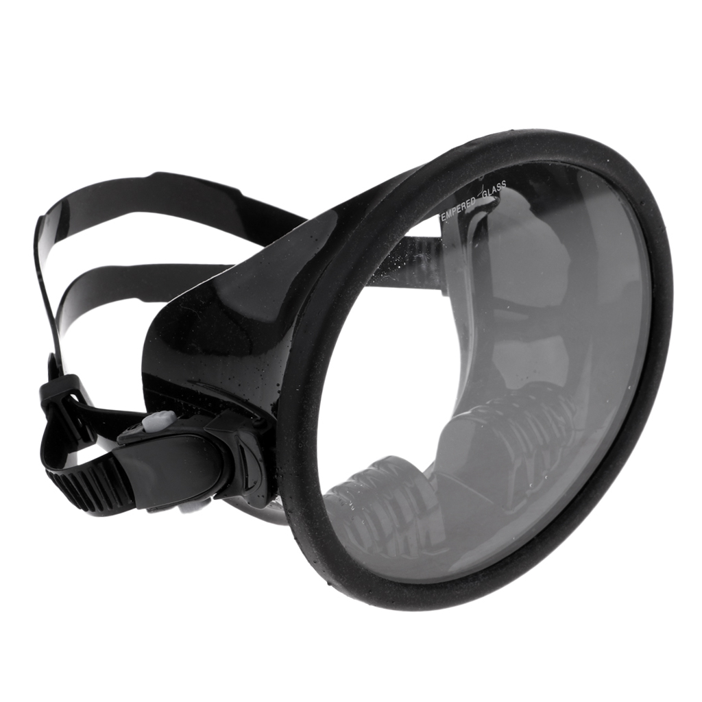 6.3x5 Inch Snorkel Mask Scuba Dive Glasses Snorkeling Gear Silicone Diving Goggles Kit With Crystal Clear View Underwater