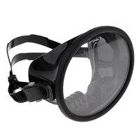 6.3x5 polegada snorkel máscara de mergulho óculos mergulho engrenagem silicone óculos de proteção kit com cristal visão clara subaquática