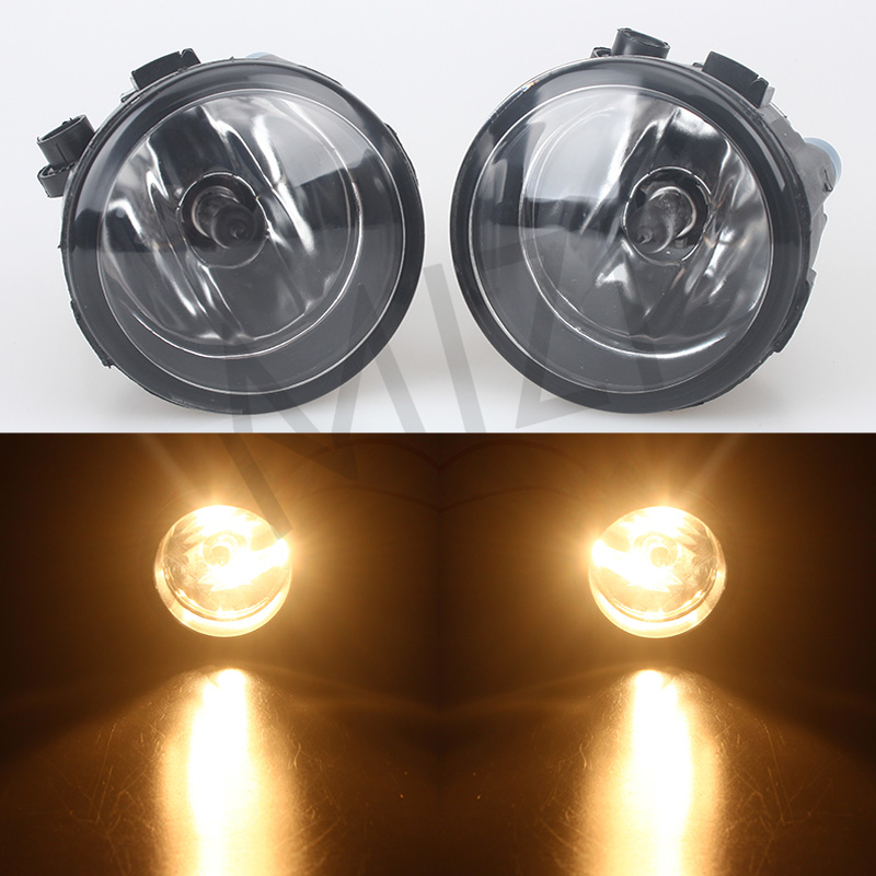 For NISSAN Tiida Saloon SC11X 2006-2012 X-Trail T31 JUKE NOTE E11 MPV Car styling Front Bumper Fog lights halogen lamps 1SET