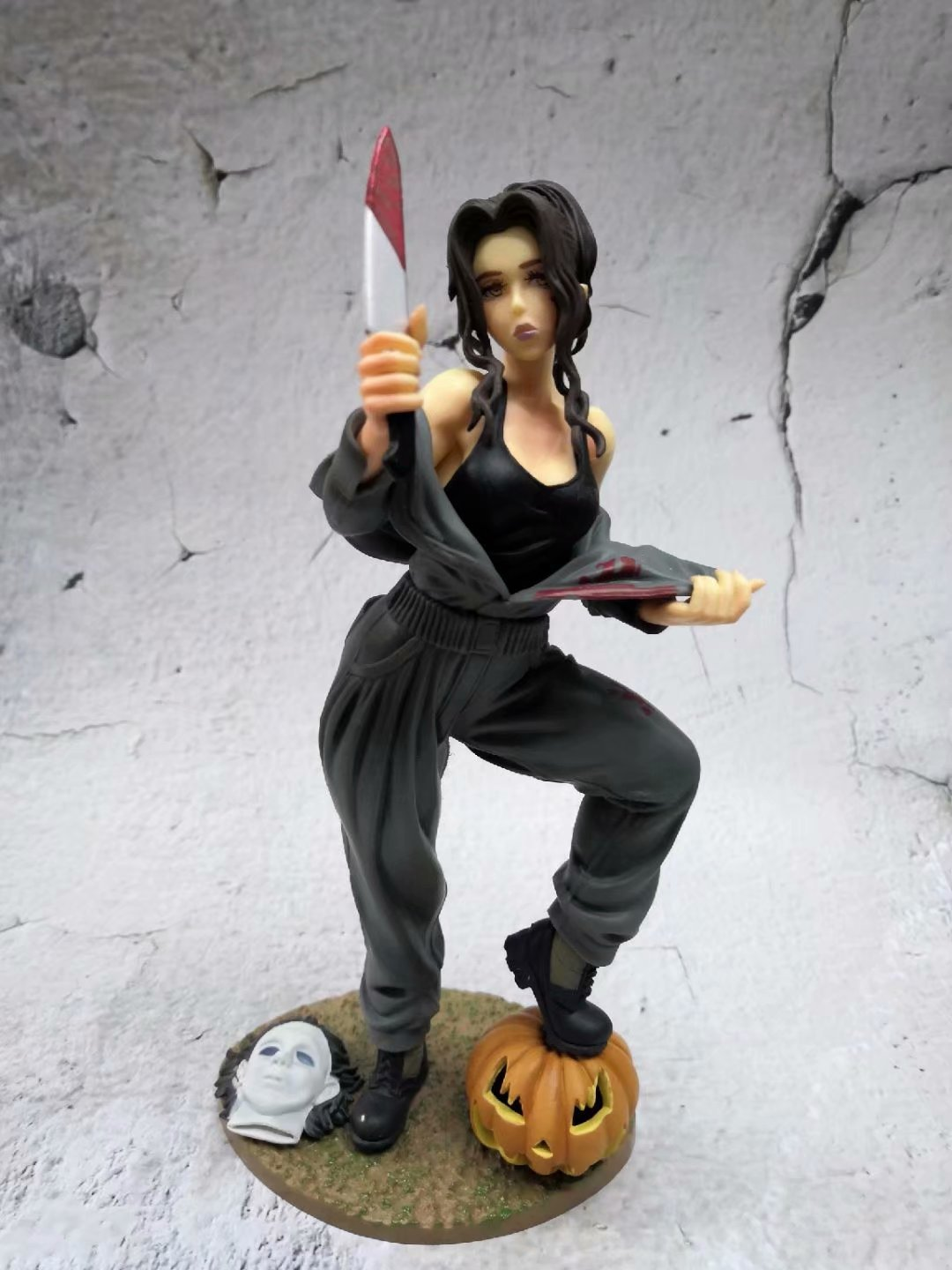 Horror Bishoujo Statue Michael Myers Halloween <font><b>Female</b></font> <font><b>Sexy</b></font> Girl Ver. PVC <font><b>Action</b></font> <font><b>Figures</b></font> Toy image