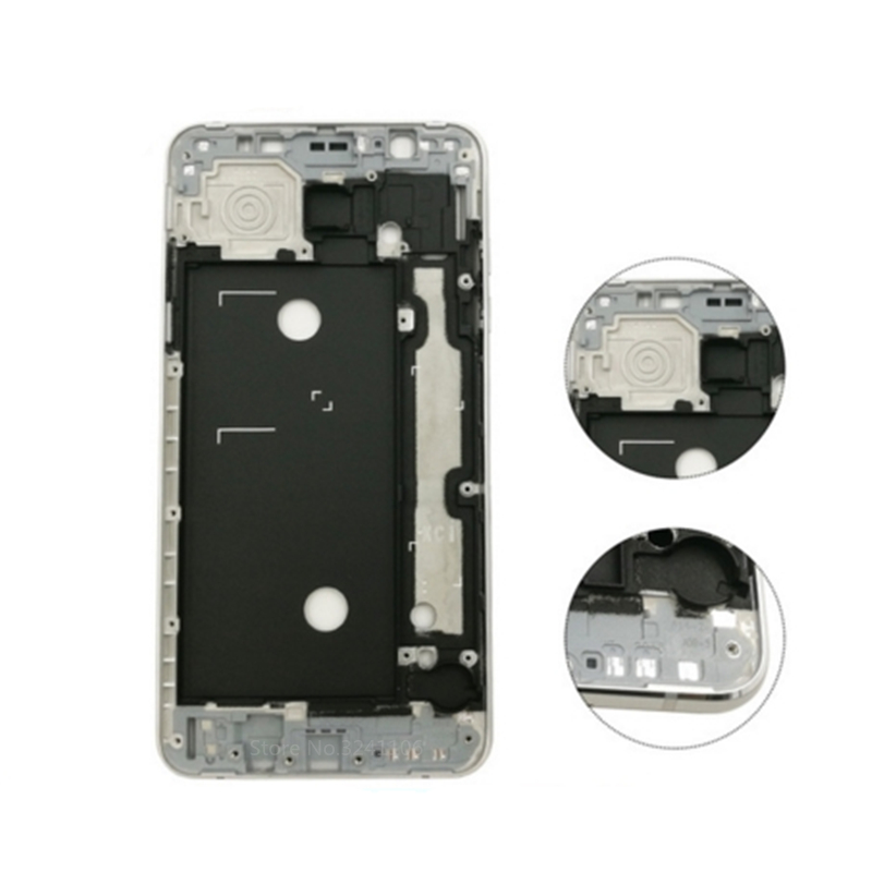 XIANHUAN Original frame For Samsung Galaxy J7 2016 J710 Middle Frame Housing Chassis plate with side key