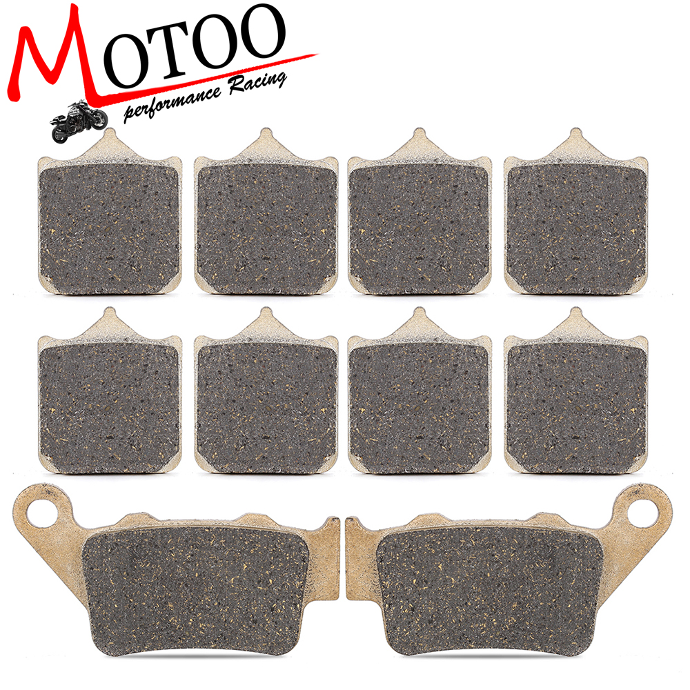 Motoo - Motorcycle Front and Rear Brake Pads For BMW S1000RR 2015-2017 motoo motorcycle front and rear brake pads for honda xrv750 africa twin 1994 2003