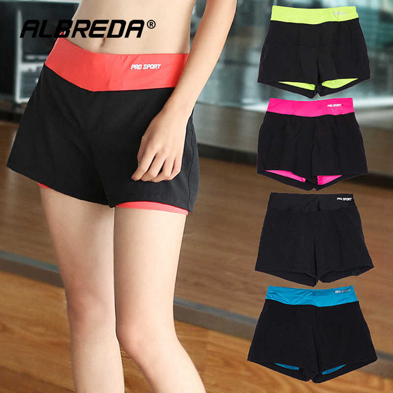 Sport Shorts Sneldrogende Yoga Shorts Voor Vrouwen Workout Fitness Gym Running Sport Korte Broek Vrouwelijke Elastische Tailleband Sportkleding