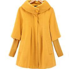 Новая зимняя женская накидка, свободные вязаные рукава, шерстяное пальто, ветровка, куртка размера плюс