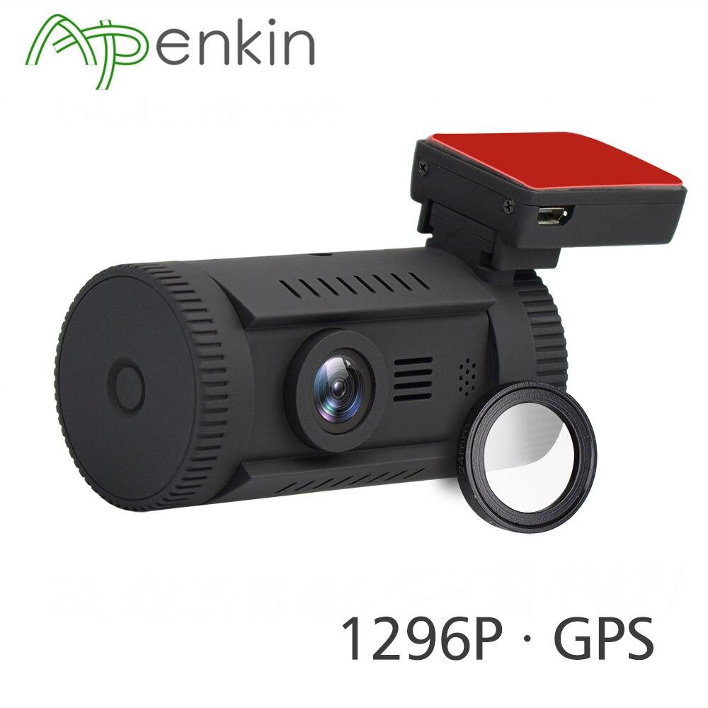 Arpenkin Mini 0826 A7LA50 Traço Câmera Do Carro DVR FHD 1296 p Ambarella DVR Carro GPS Traço Cam Gravador De Auto ADAS WDR HDR e Filtro CPL