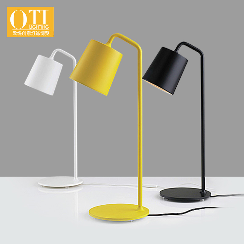 ФОТО OTI lighting The Nordic fashion creative contracted and contemporary wrought iron colin desk lamp of bedroom the head of a bed