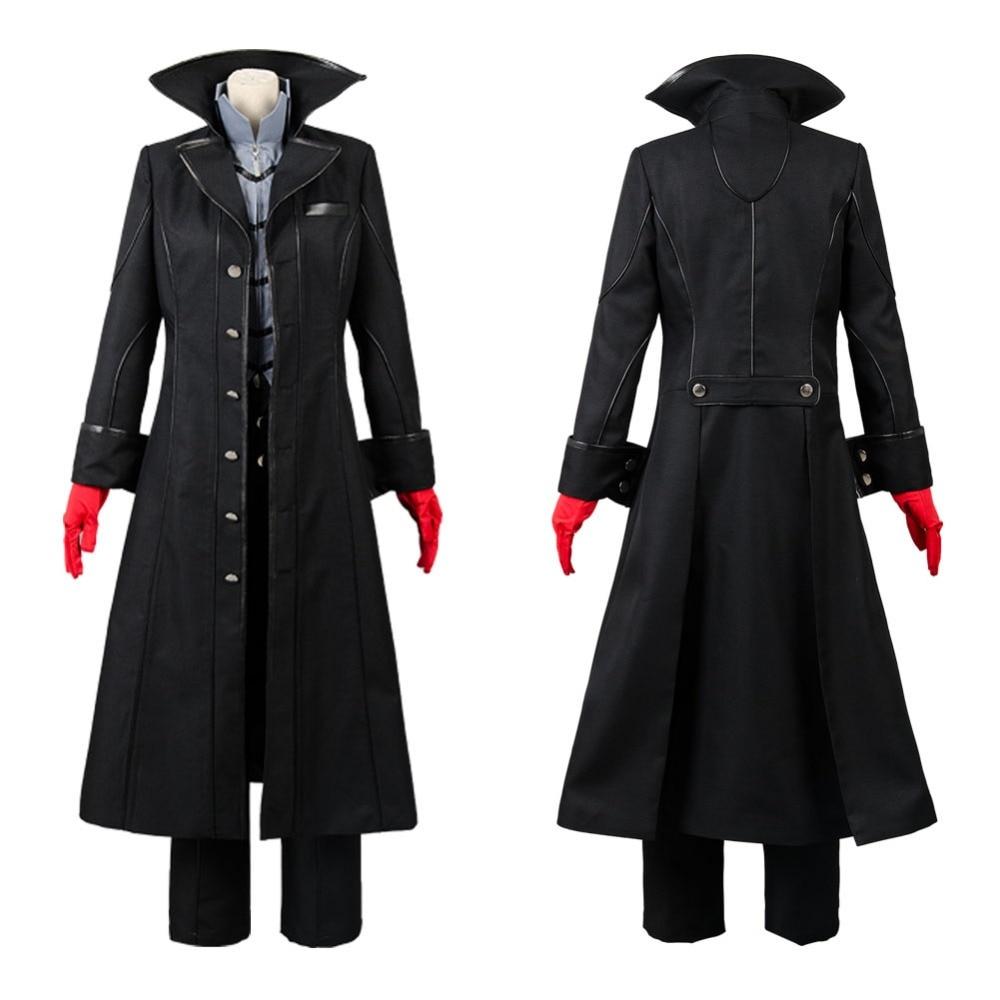 Costume Cosplay Persona 5 Costume Cosplay Joker Anime Costume Cosplay Halloween ensemble complet uniforme pour fête sur mesure