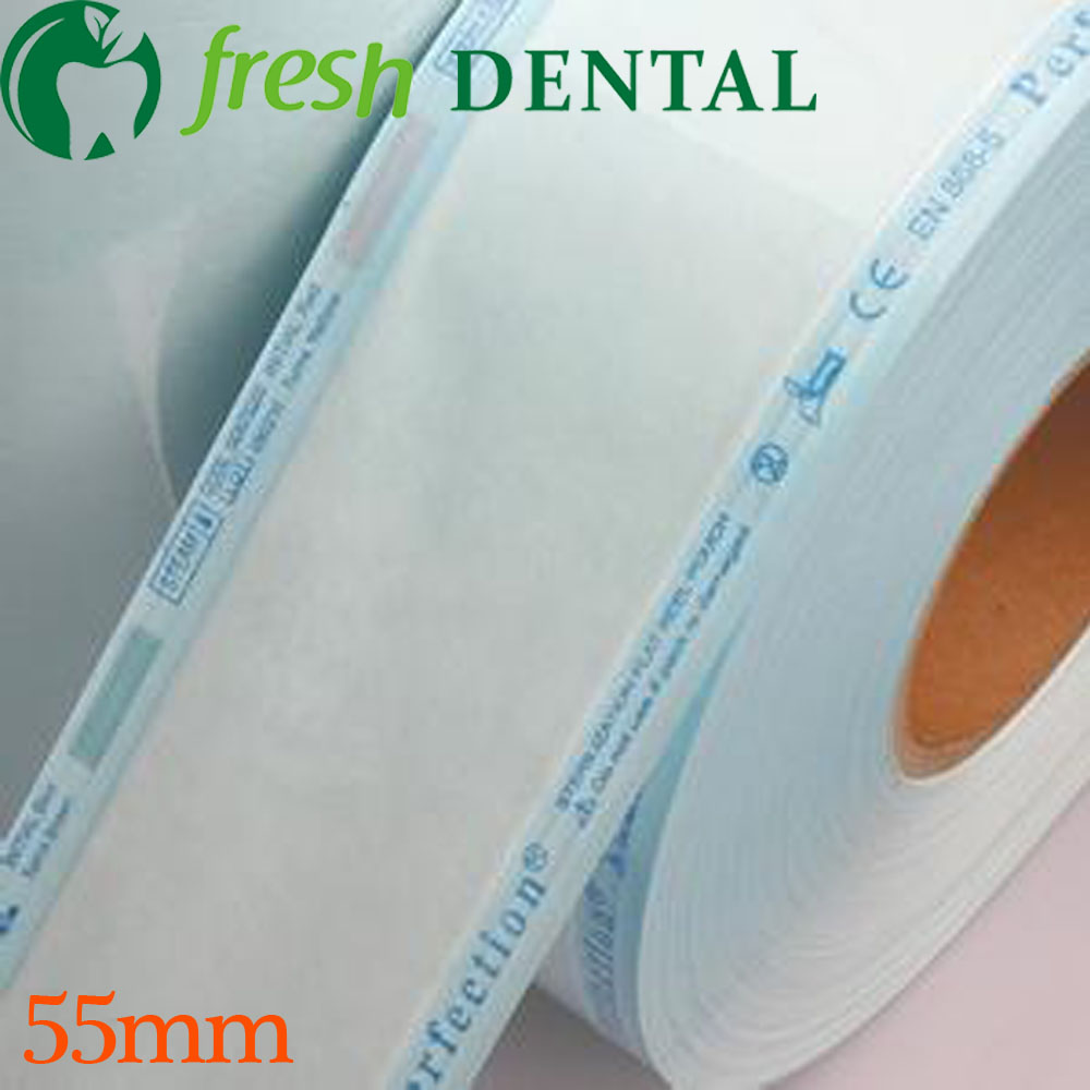 Dental Sterilization bags 5.5CM*200M disinfection sterilization roll oral dental materials Dental Consomables SL421 developing oral communication materials for thai immigration officers