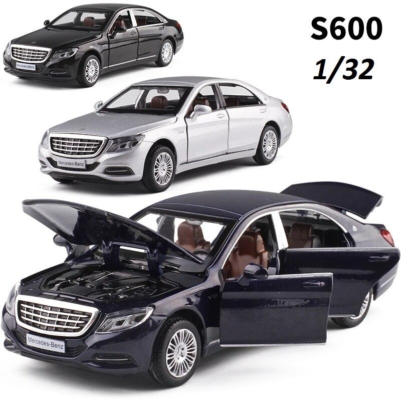 Engedélyezett ötvözetmodell luxusautók 1/32 öntvénymodell - Modellautók és játékautók