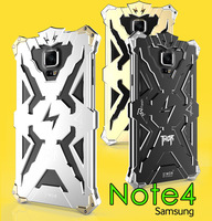Simon Thor Iron Man Hero Series Shockproof Aluminum Metal Bumper Cover Case For Samsung Galaxy Note