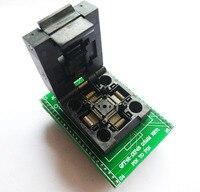 TQFP48 LQFP48 QFP48 per DIP48 0.5mm Passo a DIP48 Adattatore di Programmazione MCU Test IC presa Programmatore adattatore Socket