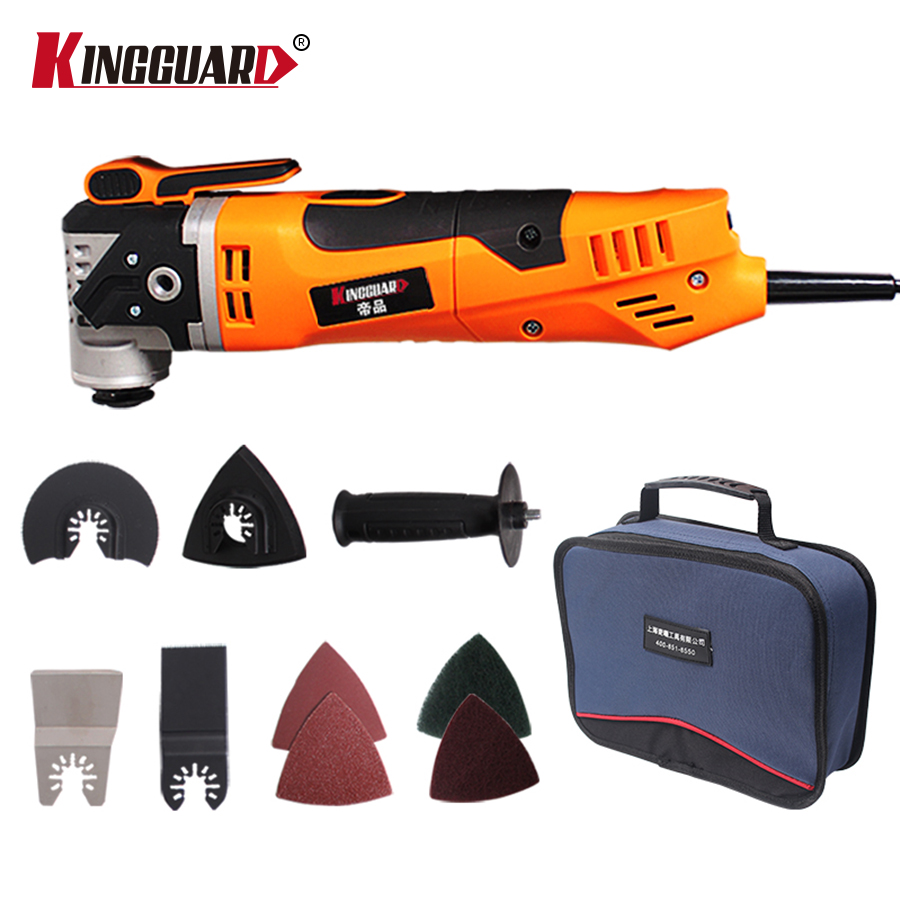 KINGGUARD Oscillating Trimmer Home Renovation Tool Trimmer woodworking Multi Function Electric Saw Renovator Tool Tools