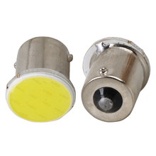 2x Super Bright S25 1156 led COB 12 SMD 1156 BA15S P21W Auto Car Signal Reverse Led Lights White Yellow Red DC 12V Auto Led