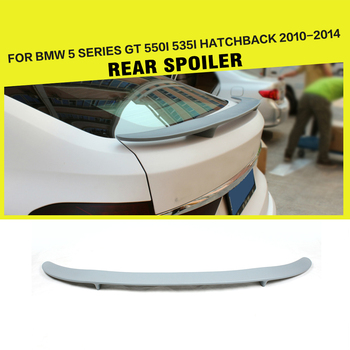 FRP Rear Trunk Boot Spoiler Wing Lip Car-Styling for BMW 5 Series F07 GT 550i 535i Hatchback 2010 - 2014
