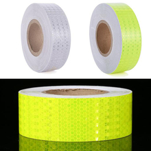 Reflective Bicycle Stickers Adhesive Tape For Bike Safety White Red Yellow