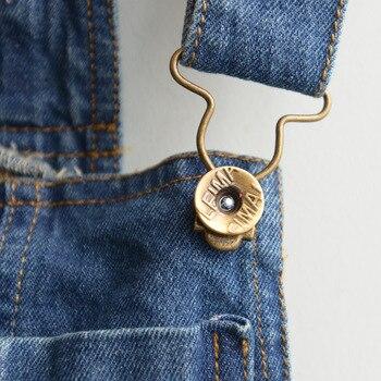 [Bosudhsou.] #D-11 Baby Girls Kids Denim Overalls Skirts Braces Skirt 2-6YUK suspender skirt overalls Children Clothing