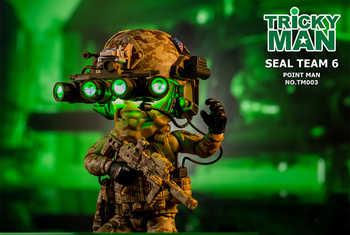 """13 ซม. 5 \""""ทหาร Action Figure TM004 SOAR นักบินตุ๊กตา TM003 Trickyman Seal Team 6 Pointman Rifleman figure คอลเลกชัน"""